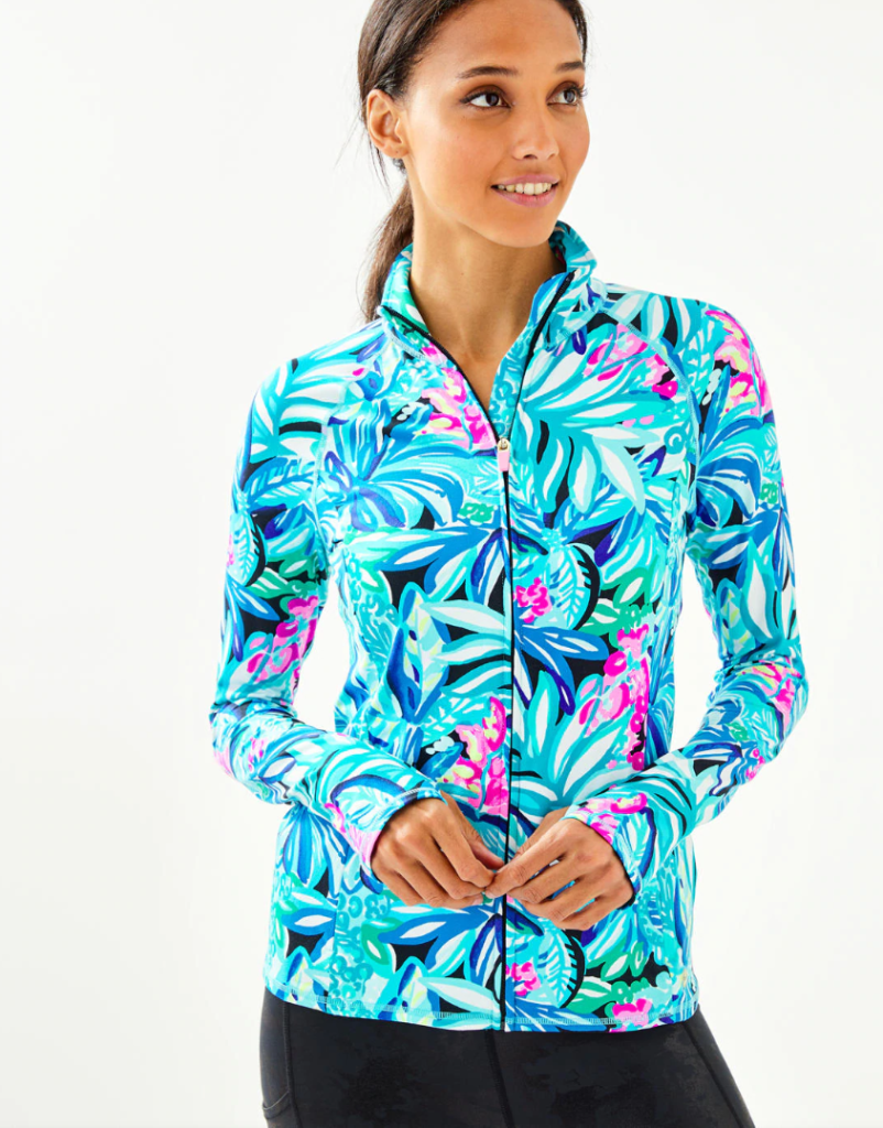 Fashion I Am Loving- Lilly Pulitzer Zip Up Jacket