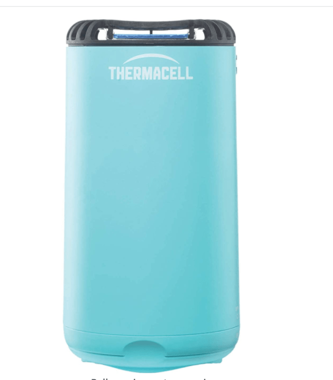 Thermacell mosquito repellant is great for enjoying the outdoors with out messing with sprays.