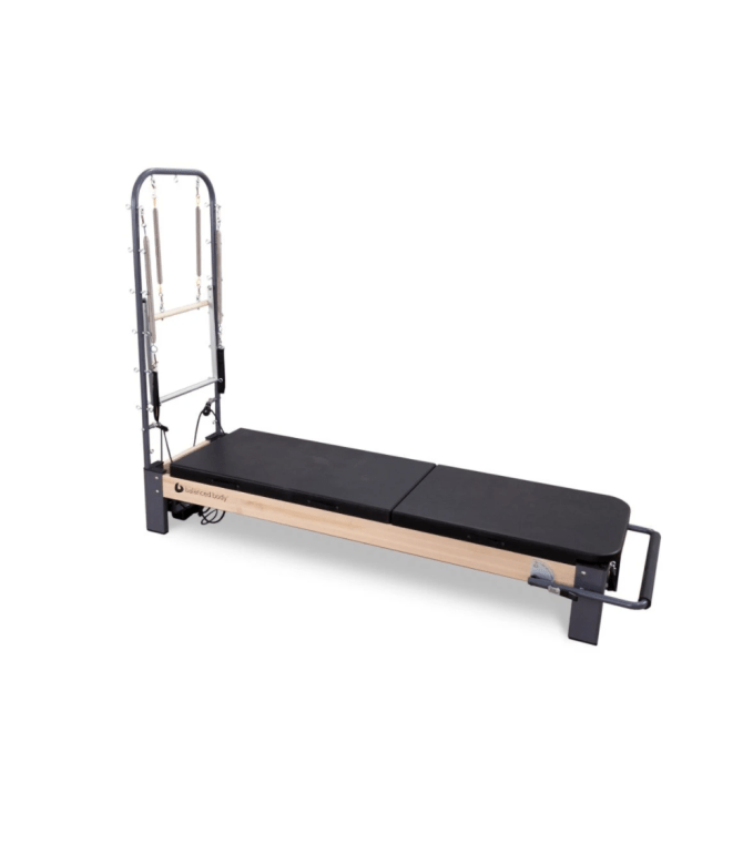 With the addition of the mats and tower, the Rialto Reformer gives me the full range of exercise I do at classes, no in my own home at my own schedule
