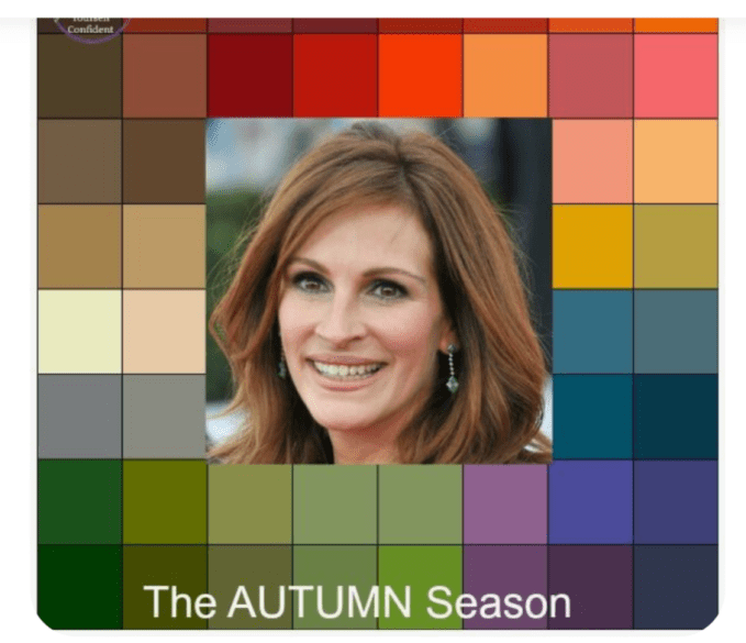 Autumn Seasonal Color Palette