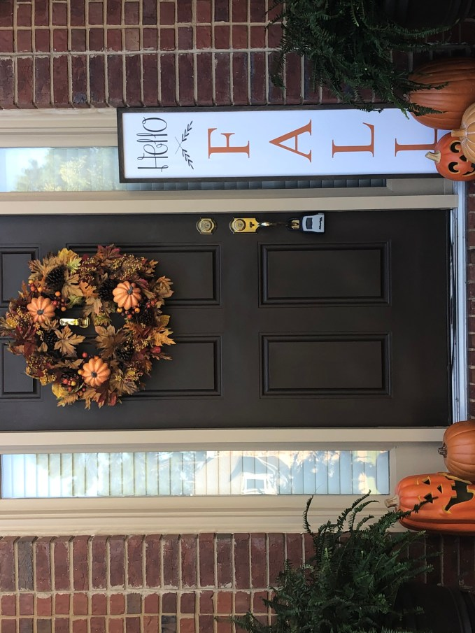 Keeping fall decoration simple this year