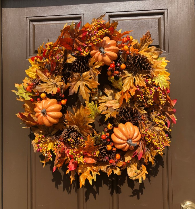 Fall Decor -New fall wreath from Balsam Hill