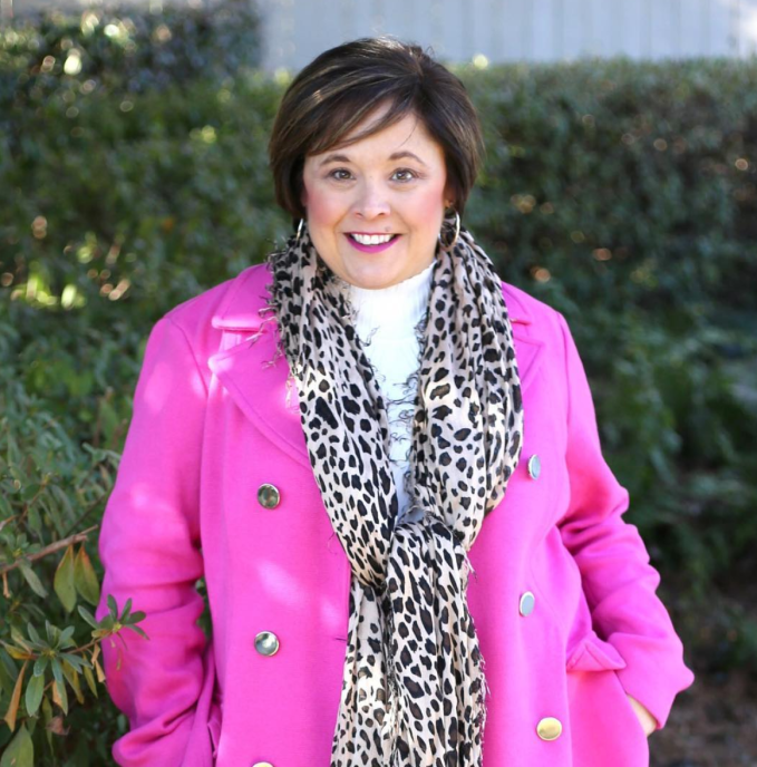 No More Black-Try a fun statement coat in a bold color such as pink
