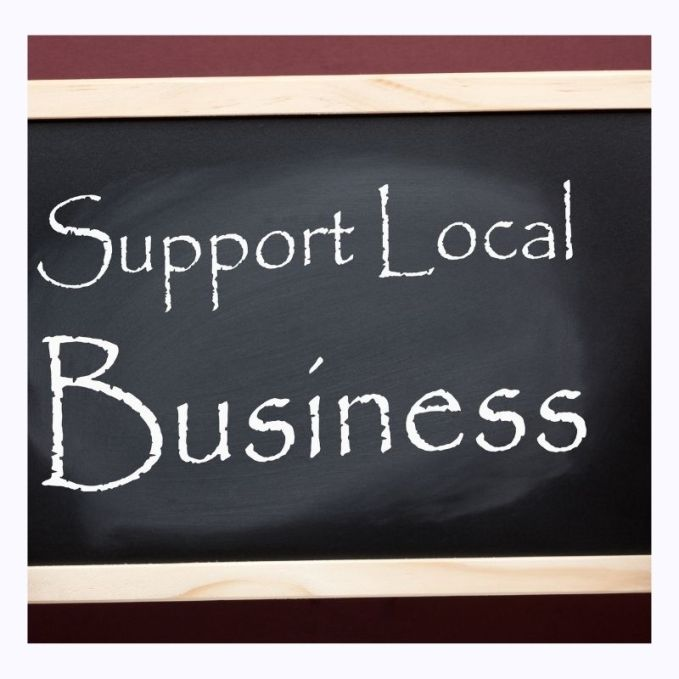 Christmas Shopping- Shop local and support your local community