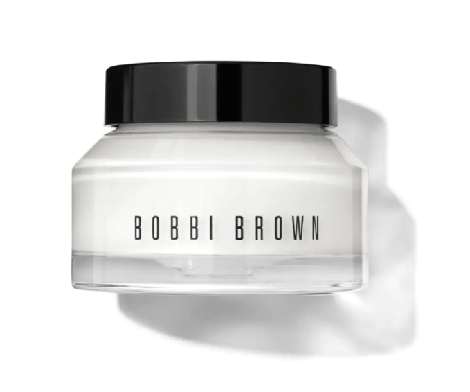 For night I use Bobbi Brown Hydrating Face Cream. It is lightweight and leaves my skin feeling smooth. I also use it under my eyes as an eye cream.