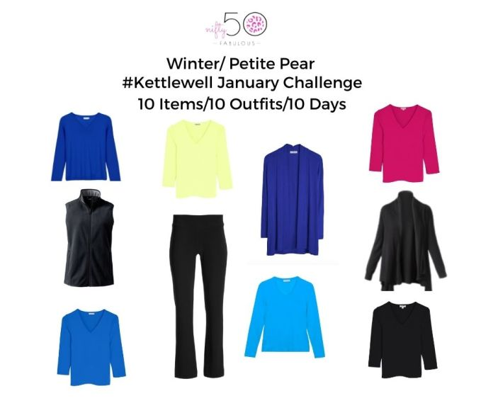 10 Items/10 Outfits/ 10 Days- January Capsule Wardrobe Challenge
