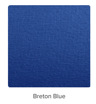 Breton Blue is classified as both cool and clear tone. It is found in both the Winter and Spring Seasonal Color Palette.