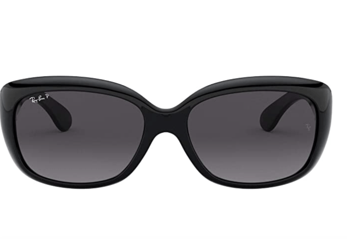 If you have round face, look for summer sunglasses that are slightly squared off. These are the Jackie Oh from Ray Ban