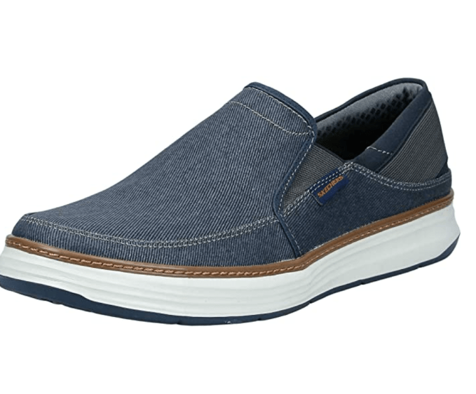Father's Day Gift Idea- Skechers Moreno Loafer perfect for more casual lifestyle
