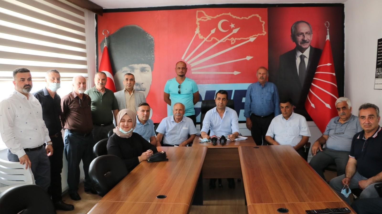 CHP'den, belediye başkanının arazisine özel sulama iddiası