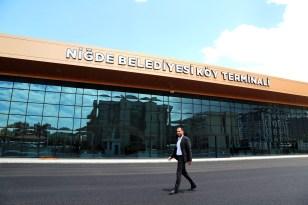 Niğde'nin modern köy terminali açılıyor
