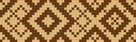 Bardzo luźna interpretacja taśmy z Toropets - schemat do tkaniny wybieranej