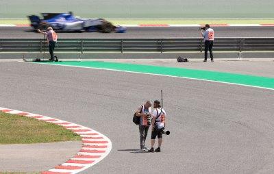 Gran Premio Espana 2017 cameramen