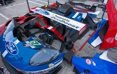 Ford GT garage preparation