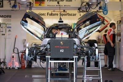 Porsche 919 Hybrid preparation