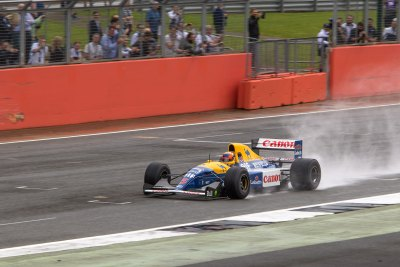 Williams FW14B, 40 Years of Williams
