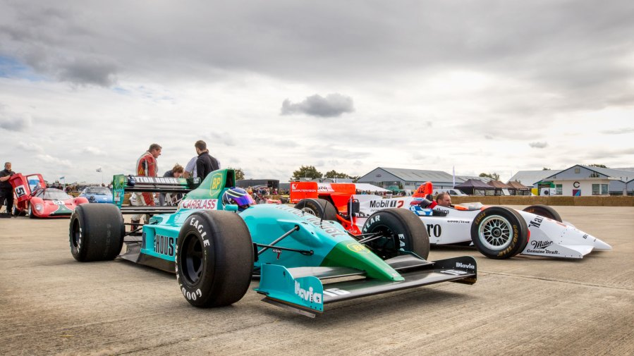 Leyton House and Penske PC23, Sywell Classic