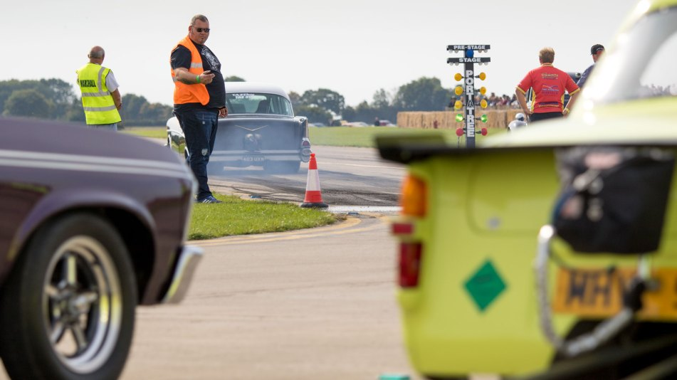 Staging at Sywell Classic