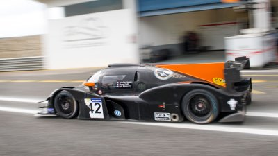 Adess 03 leaves the pit lane, VdeV Endurance Series