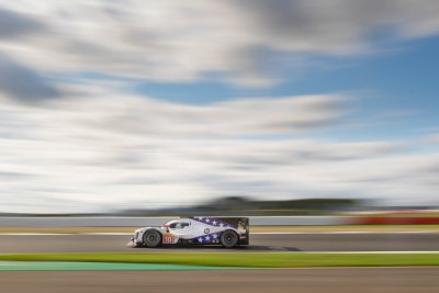 Dragonspeed LMP1, Hangar Straight against a large blurred sky
