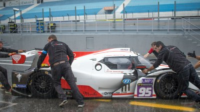 Ligier JSP3 in pit lane, VdeV Endurance Series
