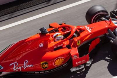 Sebastian Vettel, Scuderia Ferrari, Formula 1 testing, Barcelona, 2018