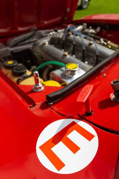 View across the engine bay of an Alfa Romeo 105
