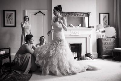 Ardington House Wedding Bride Bridesmaids