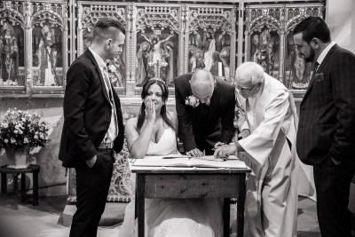 Hambleden Church Wedding