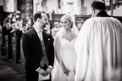Wargrave Church Wedding Couple Ceremony