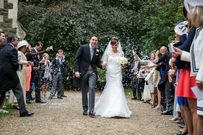 Buckinghamshire Wedding Confetti