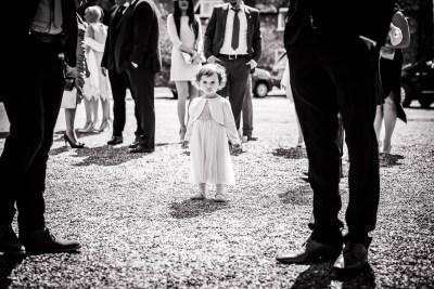 Hambleden Wedding Church Flowergirl