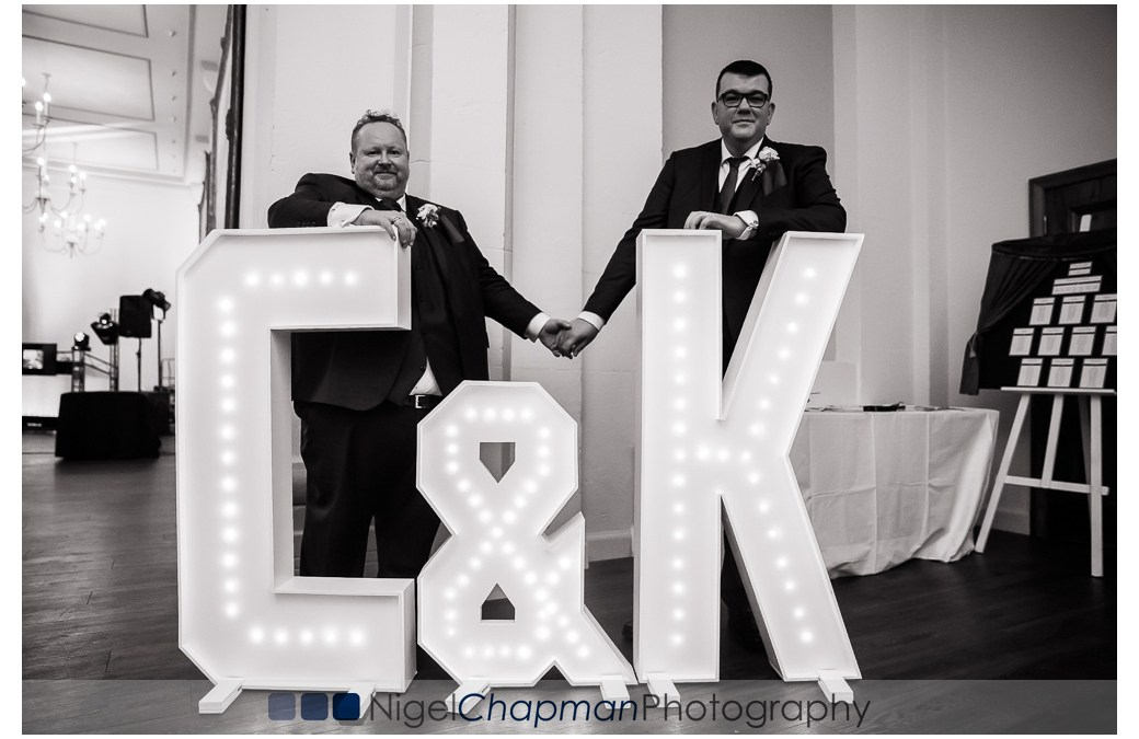 Heythrop Park Wedding Photos – Craig & Karl