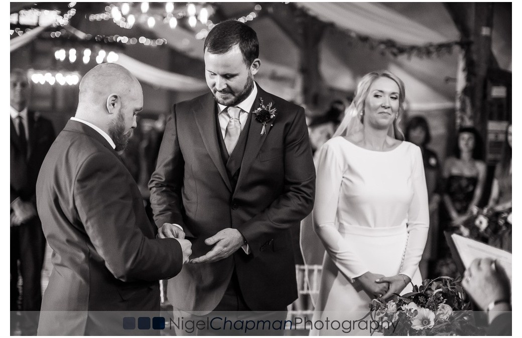 Wedding Photos Lains Barn – Steph & James