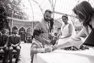 Ceremony Pageboy Rings