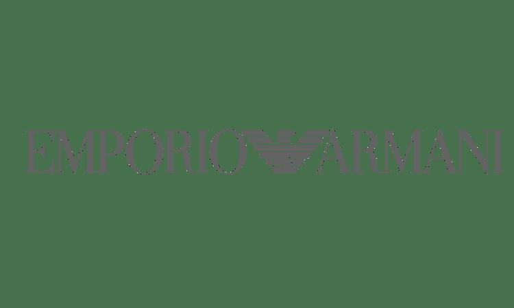 Nigel Holmes Designer Menswear - Emporio Armani Logo