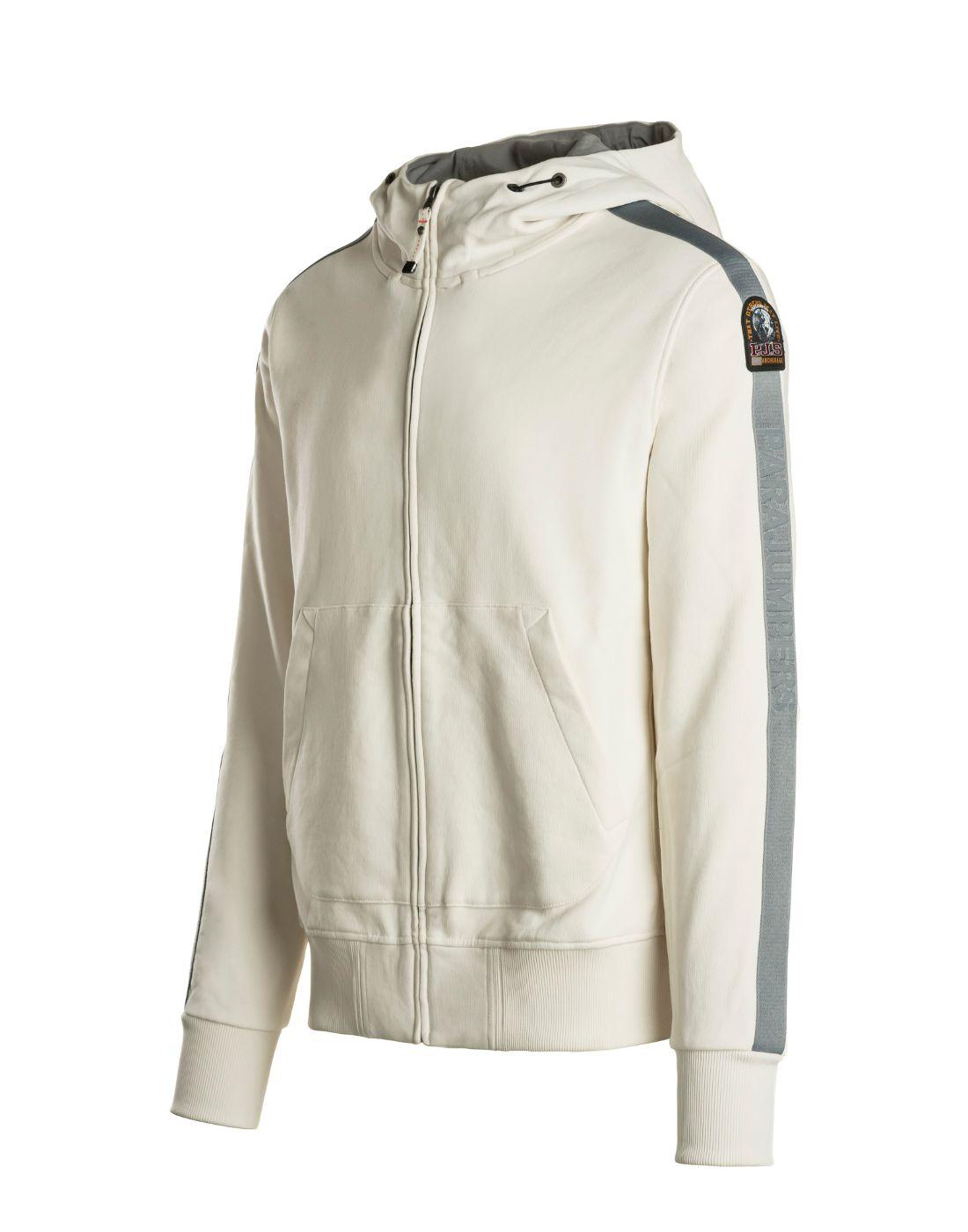 parajumpers cream hoodie