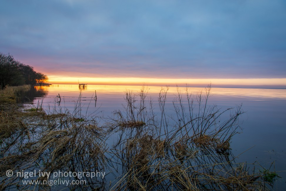 Here's another photo from the sunset at Lough Neagh last night.