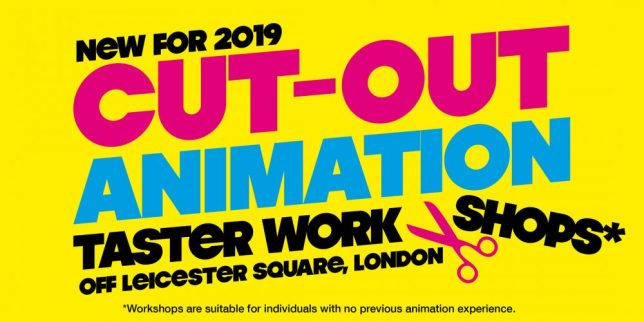 Cut-Out Animation Workshops