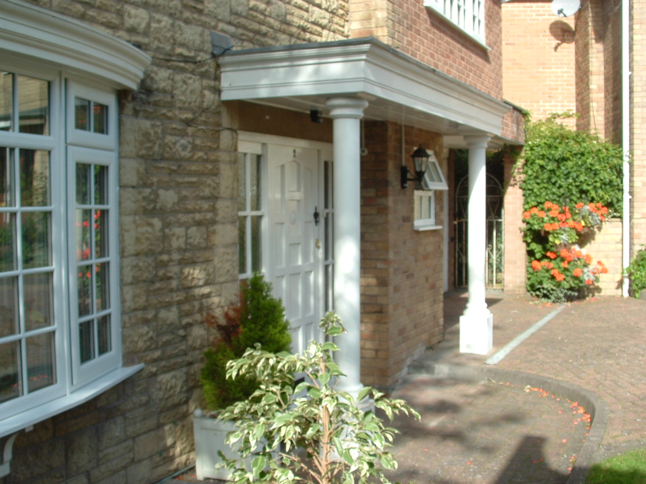 Georgian Style Porch  Kent and Sussex Handyman Service