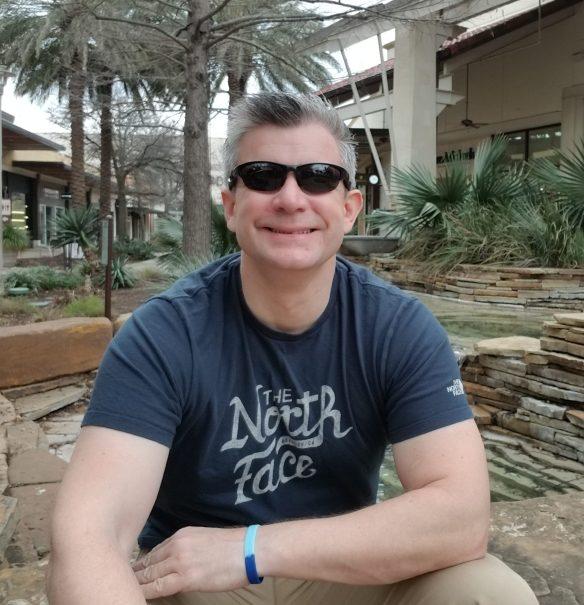Nigel Yates in San Antonio, Texas