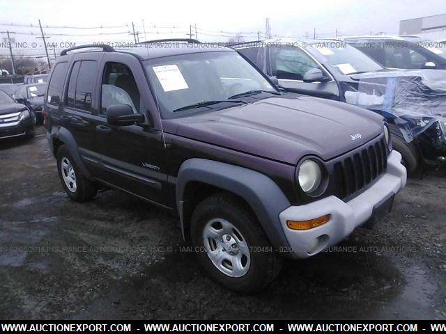 Visit Auctionexport Com Make Jeep Model Liberty Sport Year 2004 Mileage 129121 Exterior Color Burdy Interior Gray Drivetrain 4 Engine