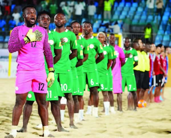Image result for 2017 FIFA Beach Soccer WCup: Super Sand Eagles target improved outing