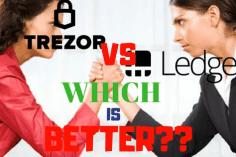 trezor vs ledger nano s