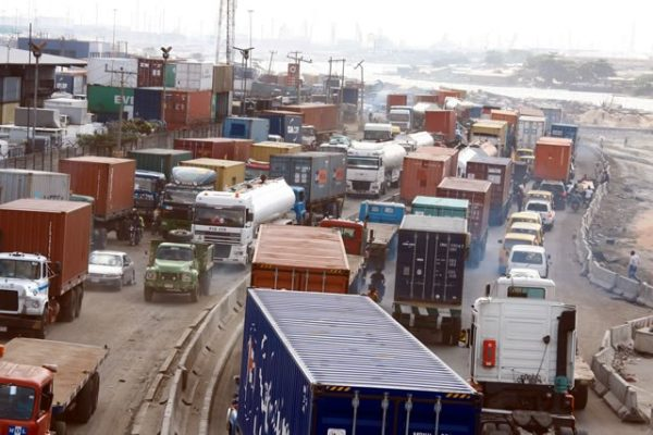 Additional measures to clear port access roads gridlock