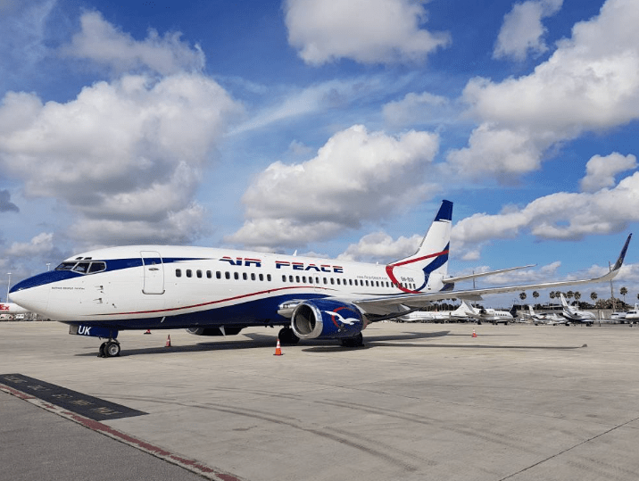 Air Peace suspends operations over COVID-19
