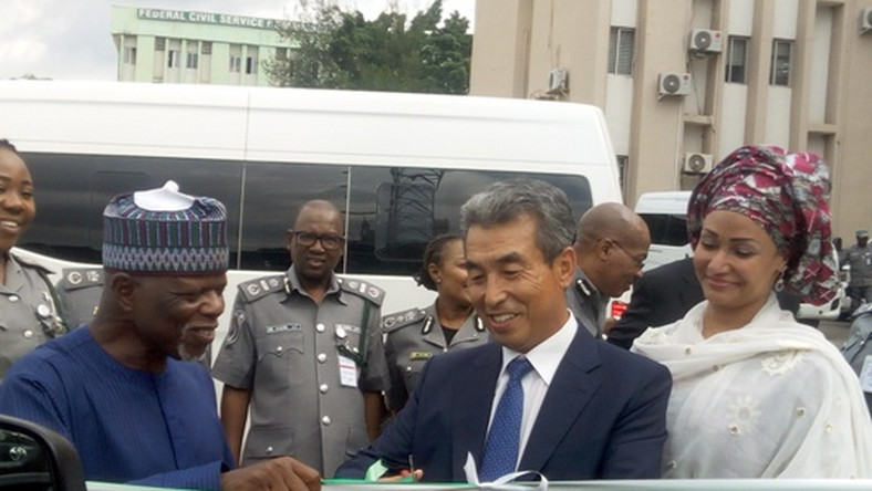 South Korea donates two Hyundai buses to Nigeria Customs