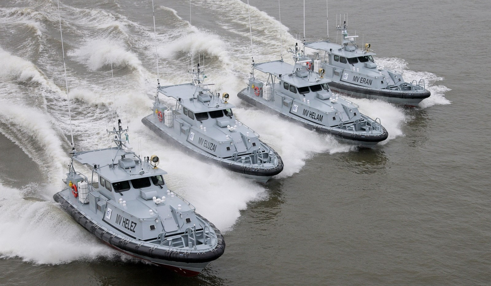 Security: Nigerian firm takes delivery of Damen patrol vessels