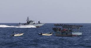 Navy arrests10 merchant vessels, apprehends 90 pirates