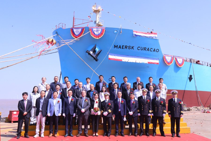 Maersk commences trial of containerized battery on Containership